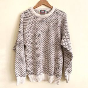 Vintage London Fog Crew Neck 80s 90s Sweater